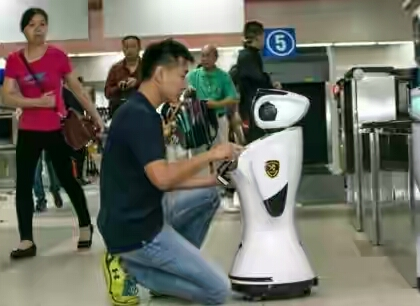 CHINA DEPLOYS ROBOTS AS CUSTOMS OFFICERS TO SPEAK FOREIGN LANGUAGES