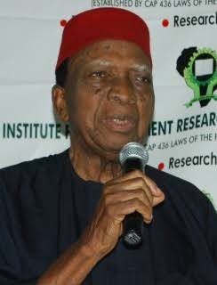 WE NEED A BETTER AND RESTRUCTURED NIGERIA - Nwabueze