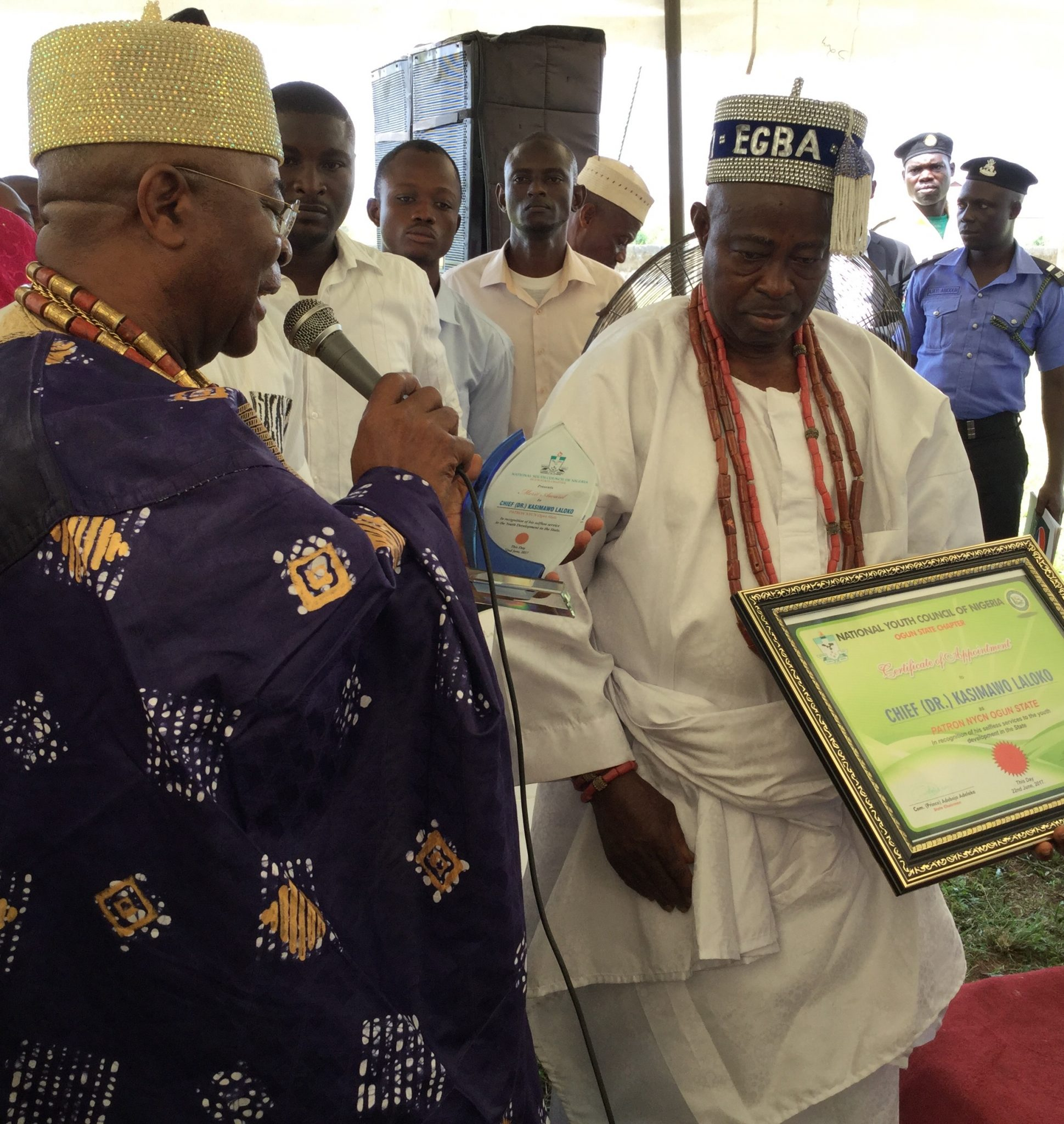 ALAKE, KUFILE, ONIGBINDE, OTHERS COMMEND LALOKO FOR HIS SELFLESS SERVICE.