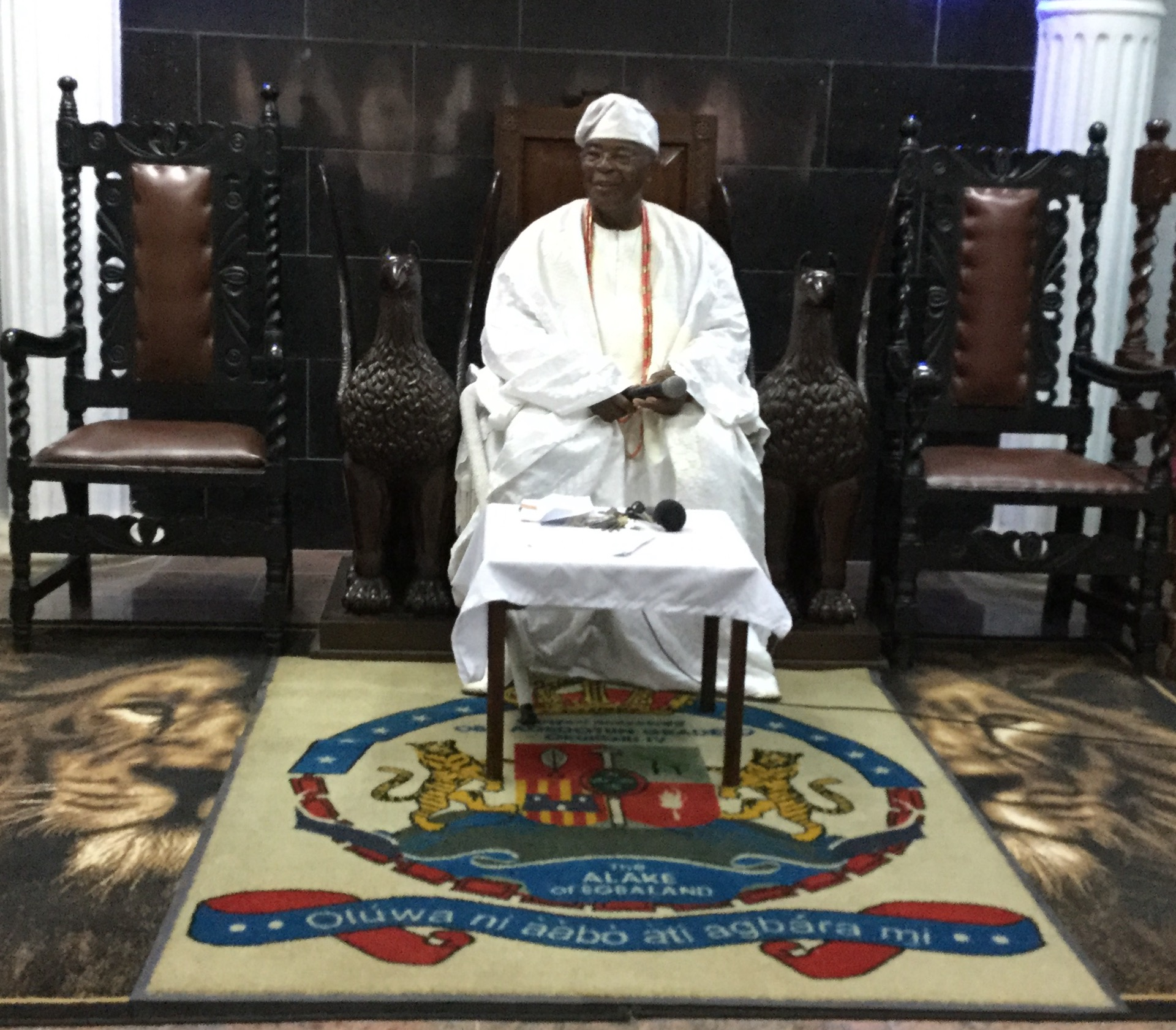ALAKE COMMENDS EGBA MUSLIM COMMUNITY FOR SUSTAINABLE RELIGIOUS HARMONY