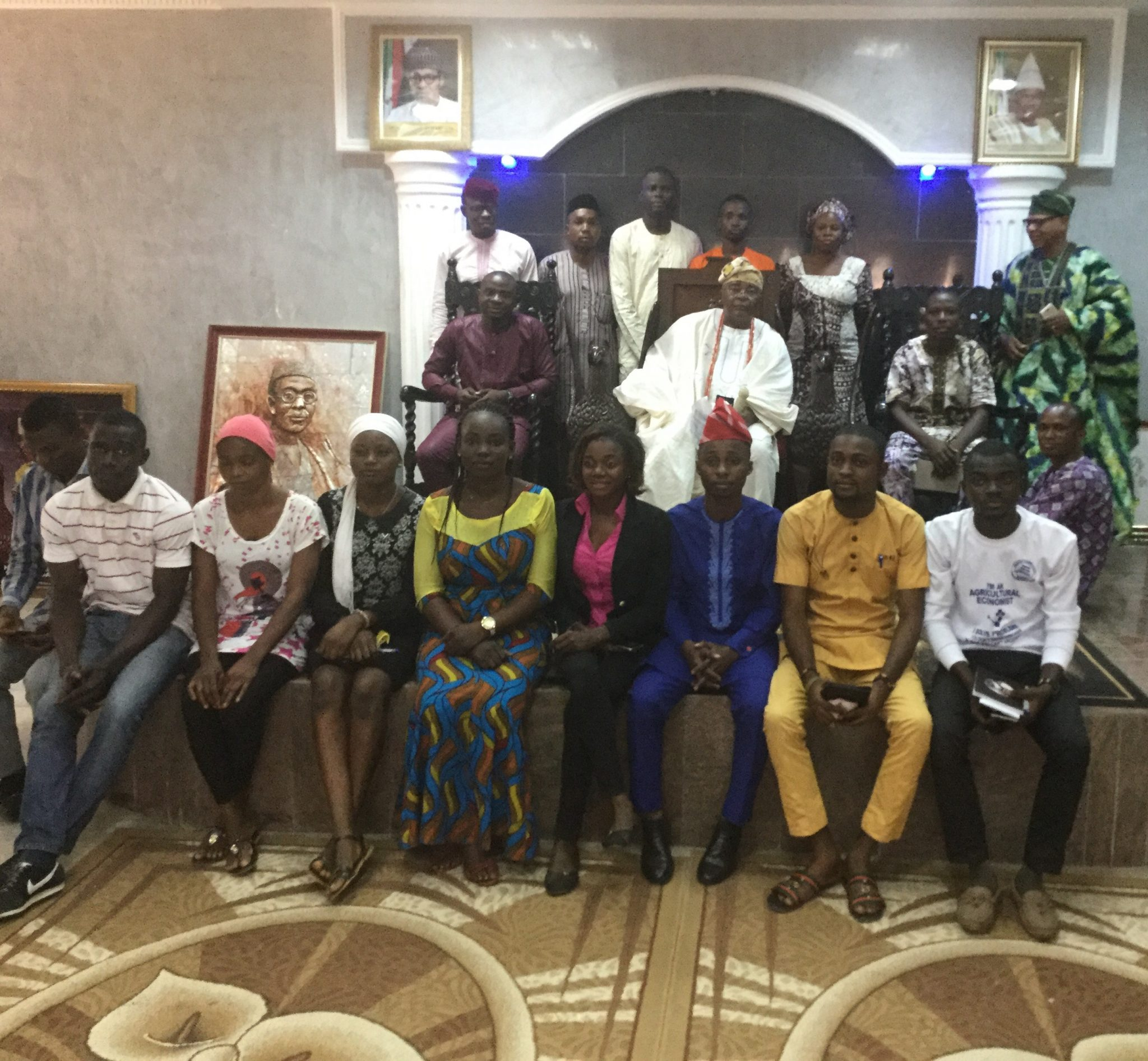OBA GBADEBO URGES YOUTHS TO SHUN CORRUPTION