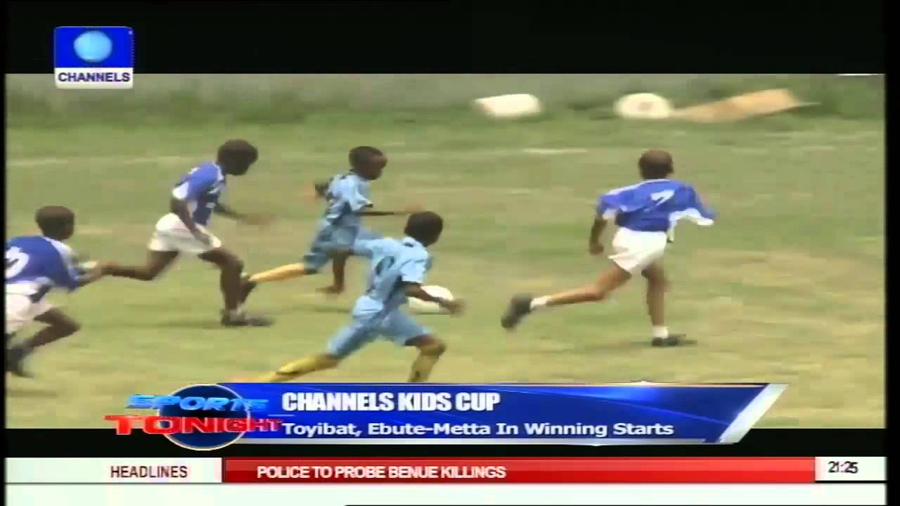 OGUN HONOURS CHANNELS' TV WINNERS OF KIDS CUP
