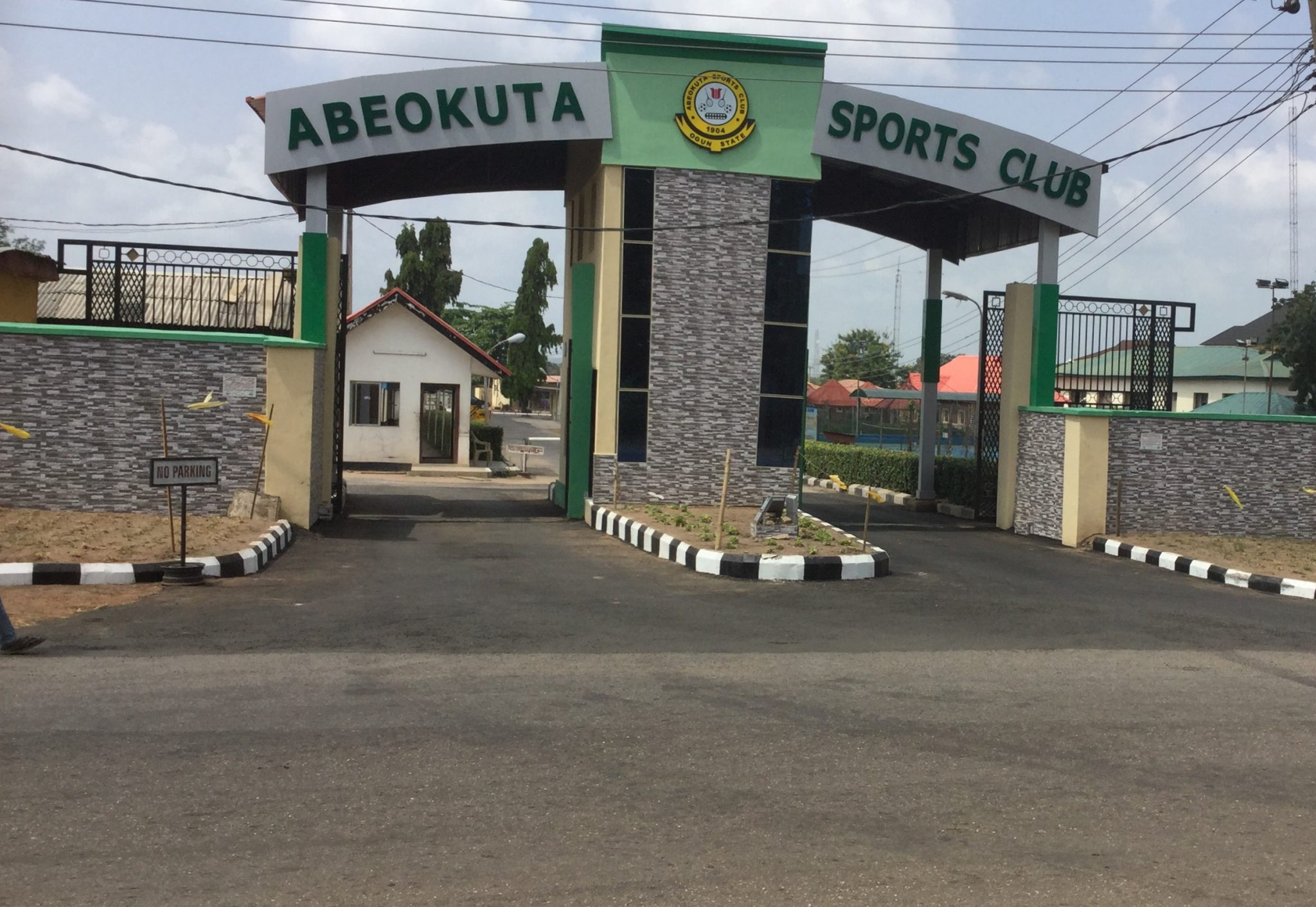 ABEOKUTA SPORTS CLUB TO COMMISSION NEW GATE ON FRIDAY.