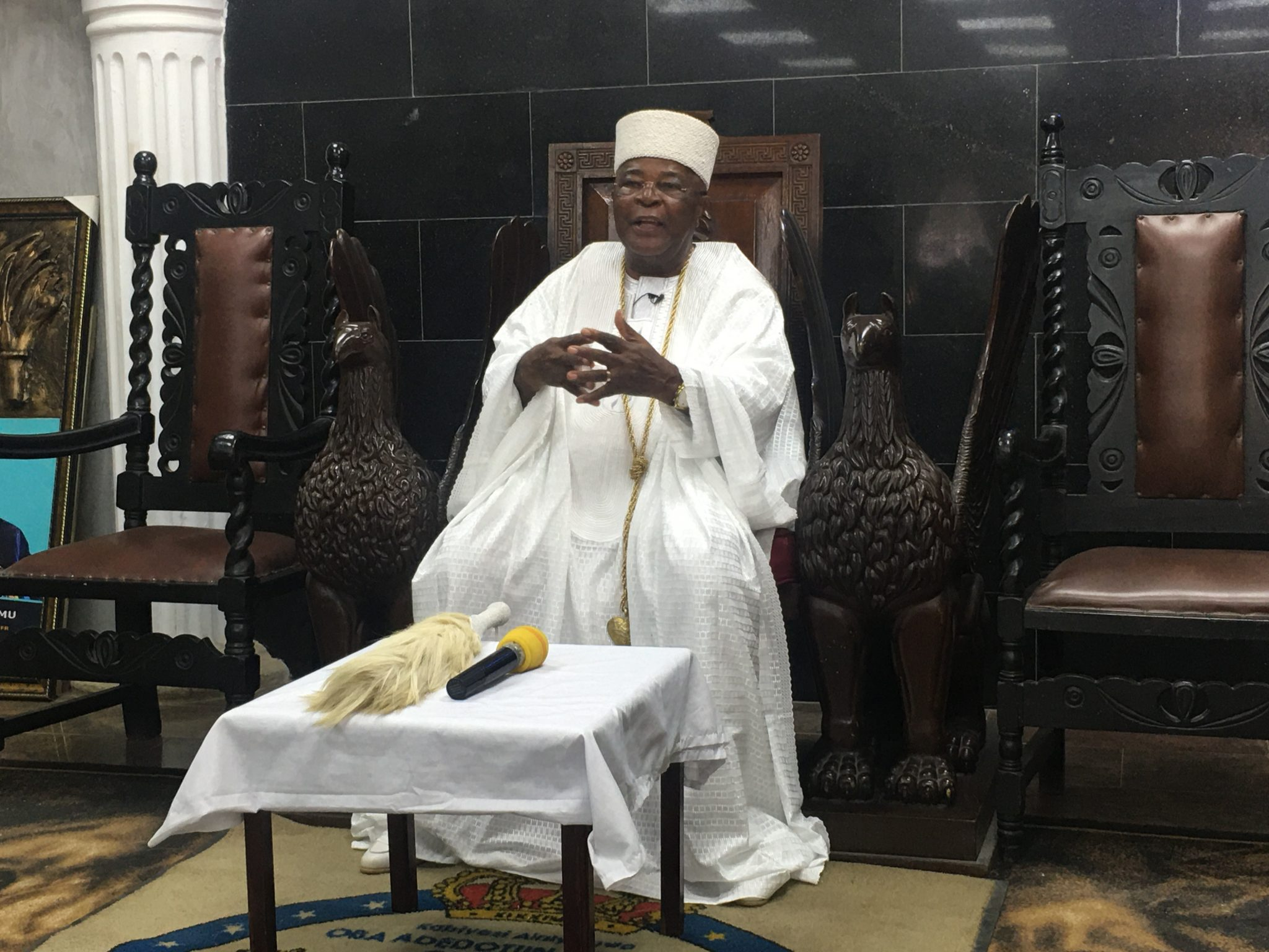 THE ALAKE AND PARAMOUNT RULER OF EGBALAND HAS AGAIN WARNED NIGERIANS THAT  COVID19 IS NOT A FLUKE, BUT A REALITY.